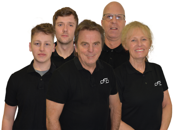 County Cycles Team Photo 2021