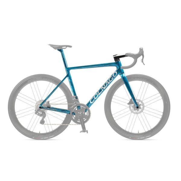 Colnago V3R-S Disc Frame Set - Size 52S Frozen Blue