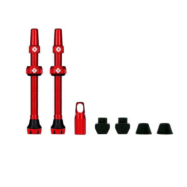 Muc-Off V2 Tubeless Valves Red
